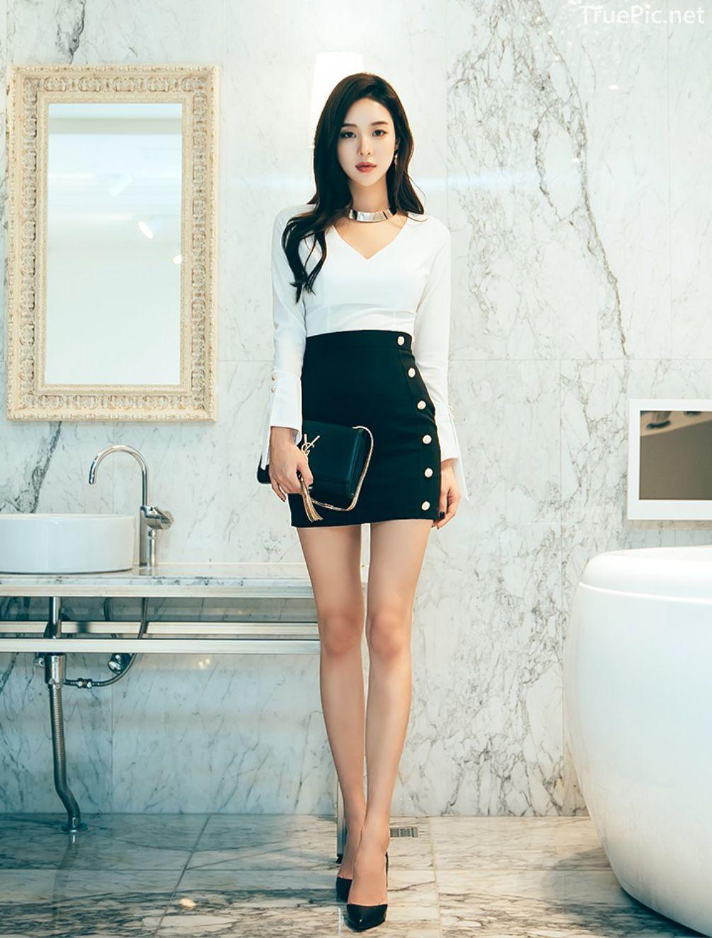 Korean Fashion Model - Park Da Hyun - Indoor Photoshoot Collection - TruePic.net - Picture 6
