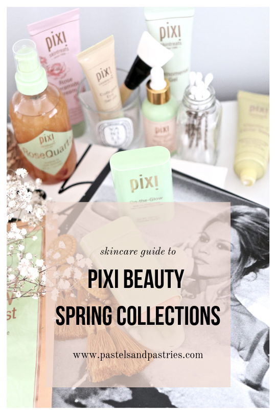 pixi beauty vitamin c, collagen and hydrating milky collection