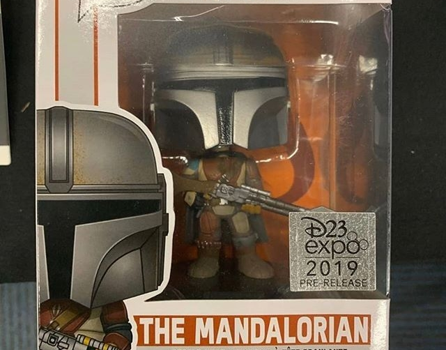 The Mandalorian Funko Pop Figures Revealed At D23 The