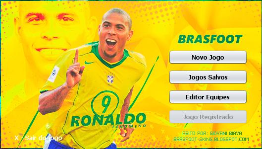 Skin Brasfoot 2019 - Ronaldo - Brasil