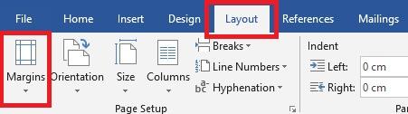 Cara Mengatur Margin Di Microsoft Word 1