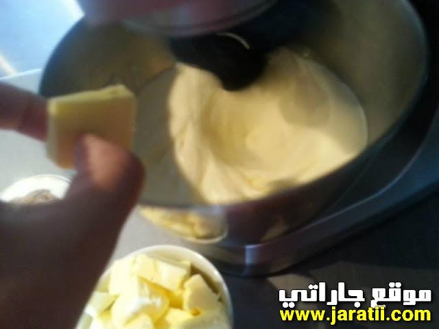 كريم الزبدة بنكهة الكراميل سهلة التحضير