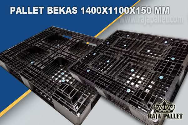 Jual Pallet Plastik Bekas Berkualitas 1400x1100x150 mm