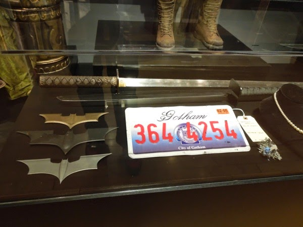 Original Batman Begins film props