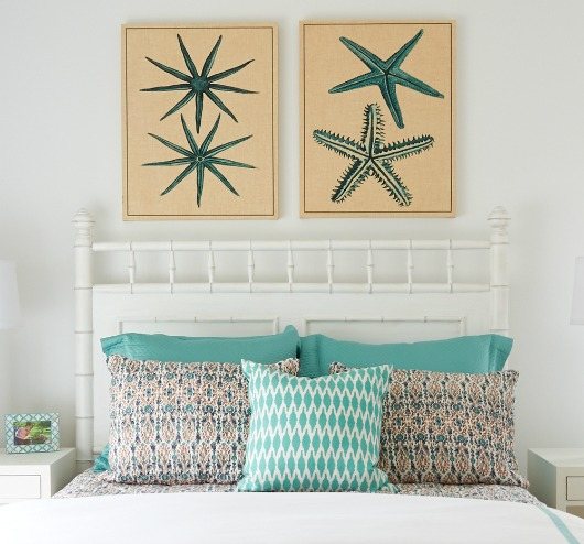 Turquoise Decor Ideas for the Bedroom