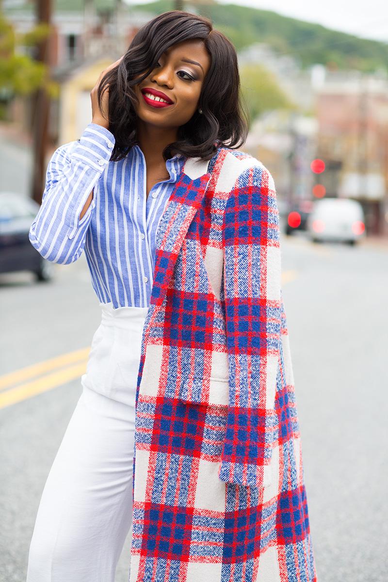 Zara statement coat, jadore-fashion.com