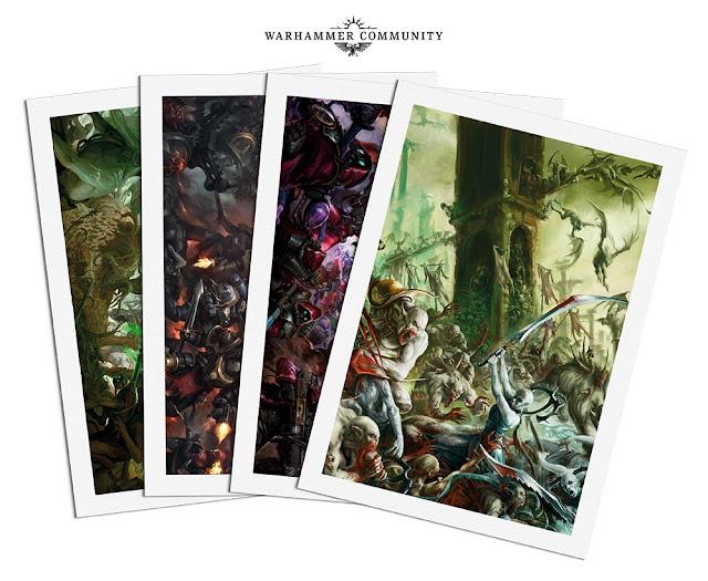 litografías Warhammer