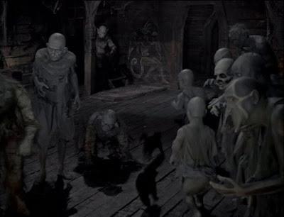 Demons in the chapel