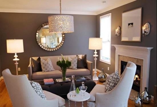 Lampu Hias Ruang Tamu minimalis modern
