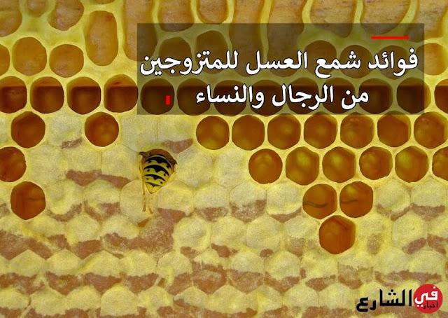 فوائد شمع العسل للمتزوجين، فوائد شمع العسل للجنس، فوائد شمع العسل العامة