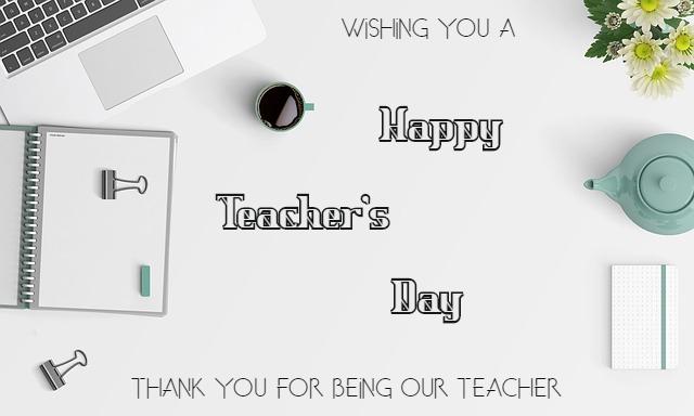 happy teacher's day images