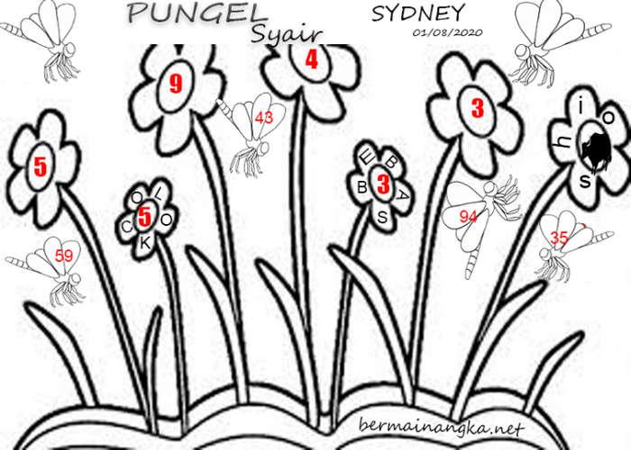Kode syair Sydney Minggu 2 Agustus 2020 236