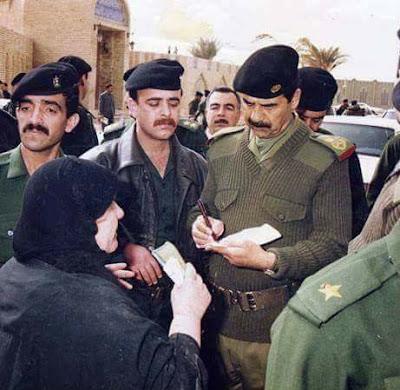 مجموعة صور صدام حسين النادره