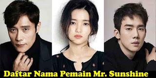 Biodata, Nama Pemain, Dan Judul Lagu Ost Mr. Sunshine Korea Drama 2018 Lengkap