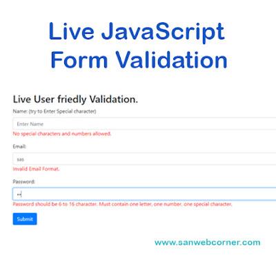 live-javascript-form-validation