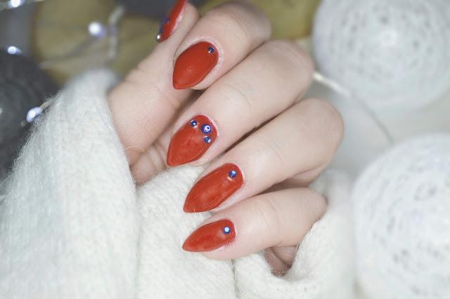 manicure hybrydowy, lakier hybrydowy Estetiq, inspiracja na manicure, pomysł na paznokcie