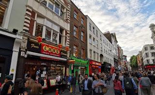 China Town en Londres.