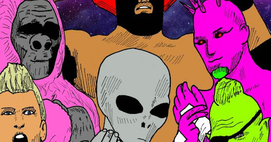 COMICS: INTERGALACTIC GLADIATORS WITH FORWARD BY K ROD (EXCLUSIVE FIRST ISSUE FREE TO READ HERE)