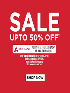 Vero Moda  Offer  Get 50% off on minimum purchase of Rs.3,500