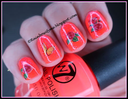 W7 ~ 15 Flourescent Pink 2