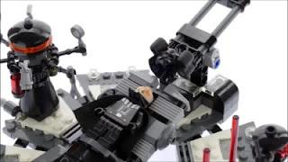 lego star wars 75183 darth vader transformation Anakin Skywalker turnin into Darth minifigures details