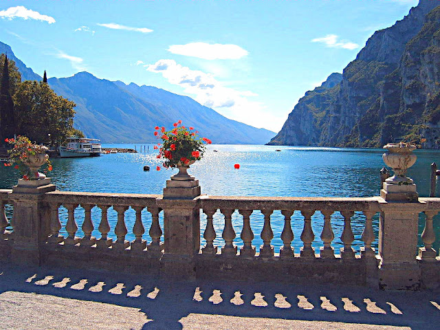 Sublime views are yours for the taking in Riva at Lake Garda in northern Italy.