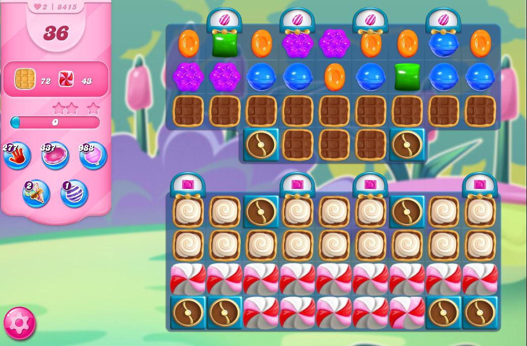Candy Crush Saga level 8415