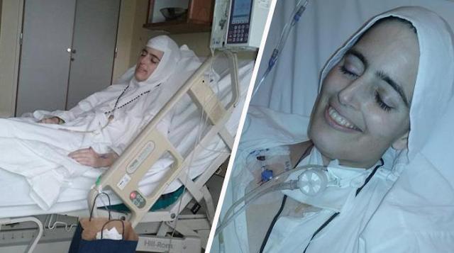 Subhanallah,,,Wanita Cantik Muslim Ini Meninggal Sambil Tersenyum, Kisah Hidupnya Bikin Sangat Terharu. Apa Wasiatnya? Bantu Sebarkan...