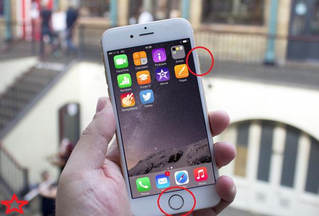hướng dẫn cách chụp ảnh màn hình iphone