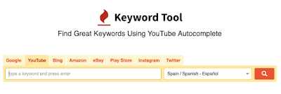 Como buscar las palabras clave para YouTube