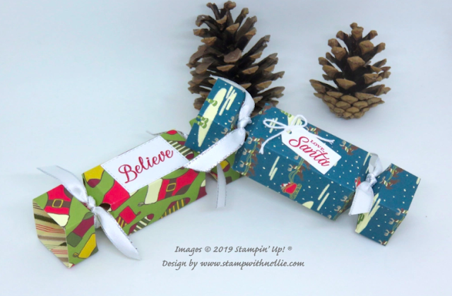 Nigezza Creates with Stampin' Up! and Night Before Christmas and Holly Jolly