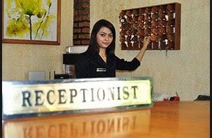 ⇒Lowongan Kerja Posisi Receptionist