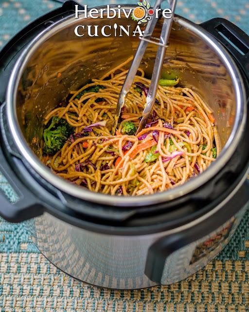 Instant Pot Vegan Thai Curry Noodles