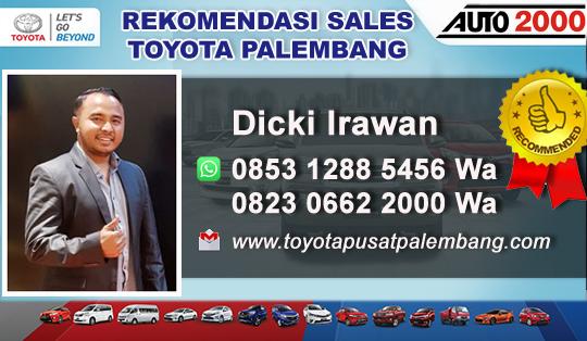 Rekomendasi Sales Toyota Palembang