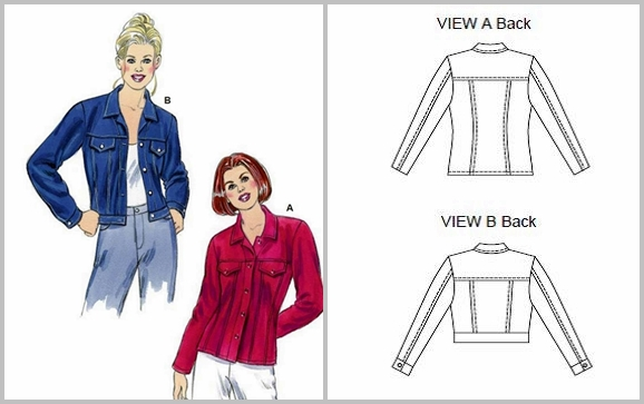 Cocos Loft Kwik Sew 2895 Denim Jacket A Second Look