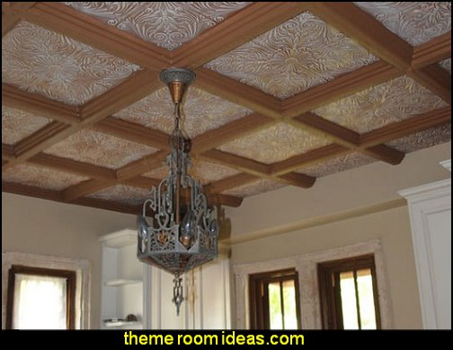 Decorate ceilings with Decorative Ceiling Tiles
