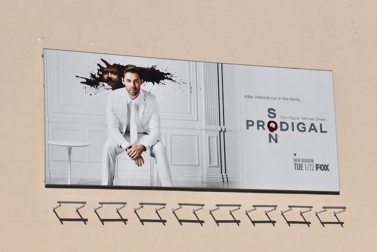 Prodigal Son season 2 billboard