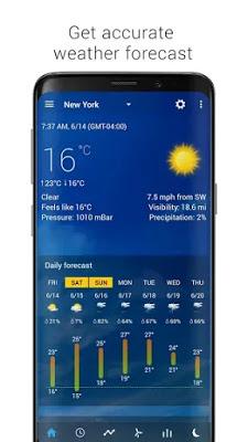 تحميل Transparent Clock & World Weather النسخة المدفوعة