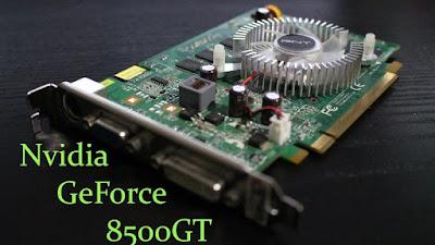 ダウンロードNvidia GeForce 8500 GT最新ドライバー