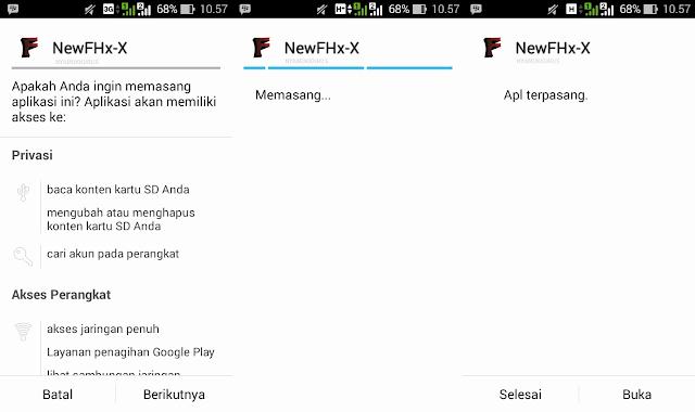 Cara Install FHx Clash of Clans Mod Apk