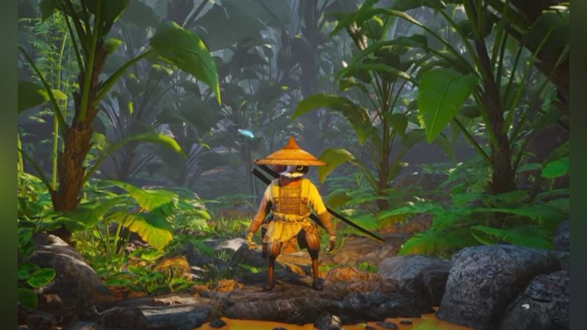 Biomutant improvements on PlayStation 4 Pro and Xbox One X