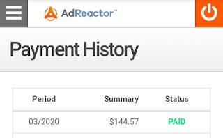 Pembayaran AdReactor
