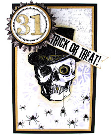 Stampers Anonymous Mr. Bones Stampers Anonymous Mini Halloween 3 Stampers Anonymous Merchant Tim Holtz Idea-ology Remnant Rubs Halloween For the Funkie Junkie Boutique