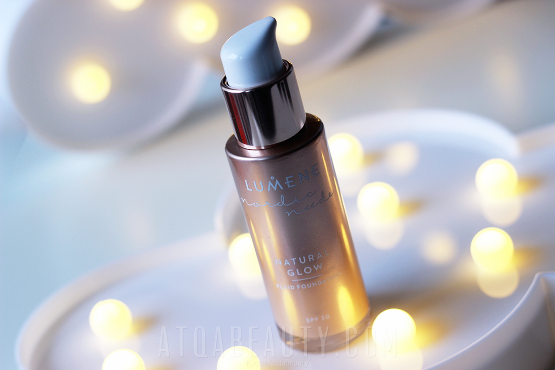 Makijaż :: LUMENE Nordic Nude Natural Glow Fluid Foundation