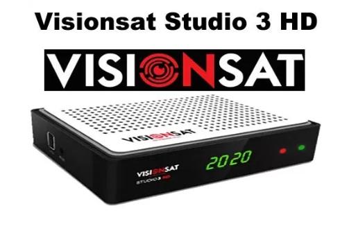 Visionsat Studio 3 HD Atualização V1.80 - 27/08/2021