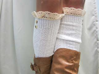 Fashion For Linda Lace Top Sock