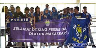 PSM Makassar vs Persib Bandung: Ratusan Bobotoh Siap Birukan Stadion Andi Mattalatta