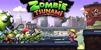 تحميل لعبة zombie tsunami مهكرة اخر اصدار للاندرويد