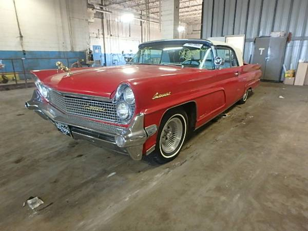 Nice Object To Restore, 1959 Lincoln Mark IV