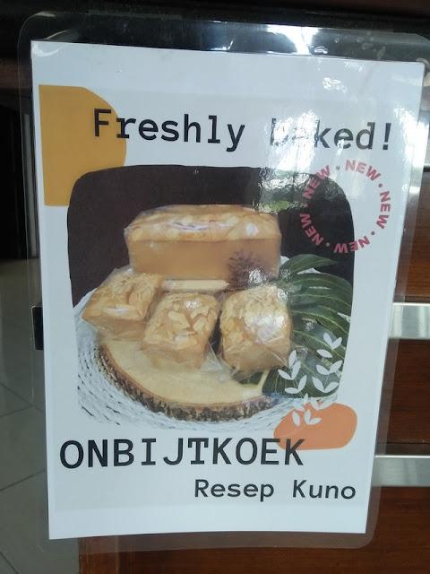 Ontbijtkoek, Kue Khas Belanda Buatan Rumah Makan Tongas Asri;Informasi tentang Ontbijtkoek di Rumah Makan Tongas Asri Probolinggo;